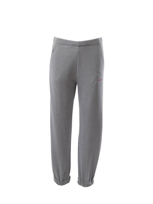 Le SLAP SOFA cotton joggers in grey marl