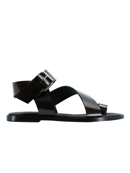 The City Sandal in Black
