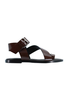 The City Sandal in Espresso