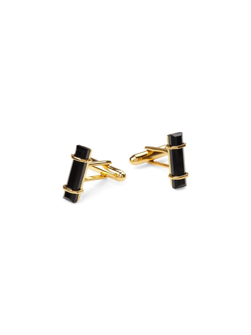 Urban Cufflinks In Black Onyx