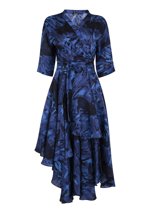 Water Wrap Dress