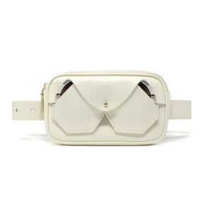 Bumbag & Belt - White