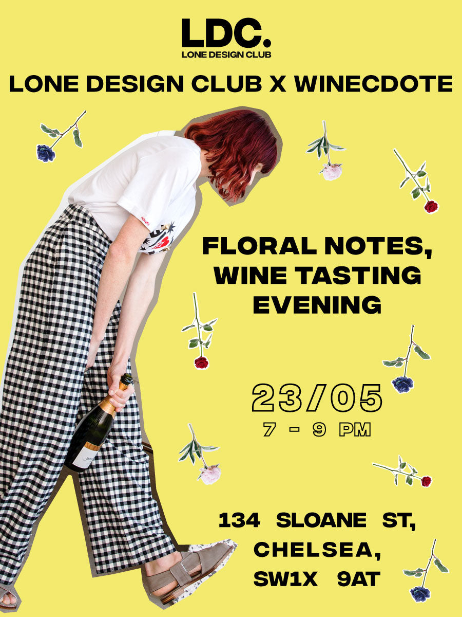 Winecdote x LDC: Floral notes, wine tasting evening