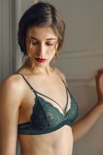 Laverne Lace Bralette - Dark Green