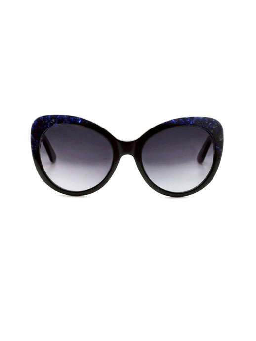 AMARA Black/Blue Sunglasses