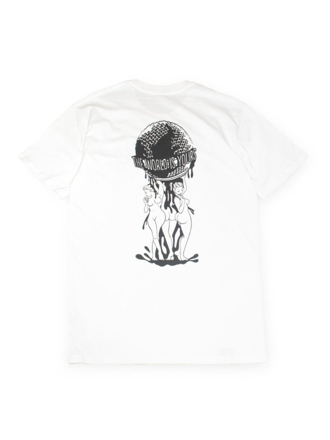 Organic Manga Cotton Tee - TWIY in White