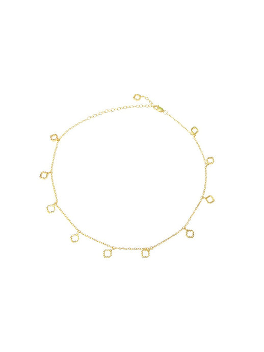 Baori Choker in 18ct Gold Vermeil