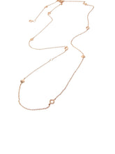 Baori All Season Necklace  in Rose Gold Vermeil