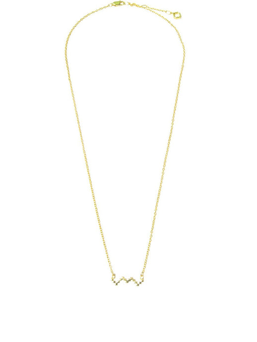 Baori Silhouette Necklace in 18ct Gold Vermeil