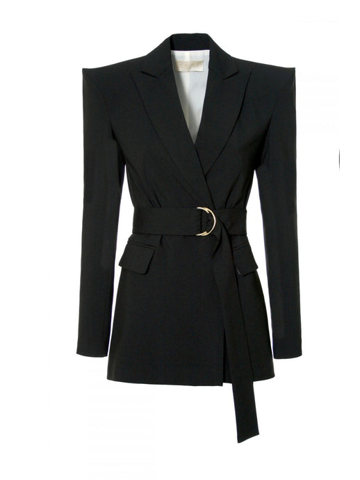 Marina Neutral Black Blazer