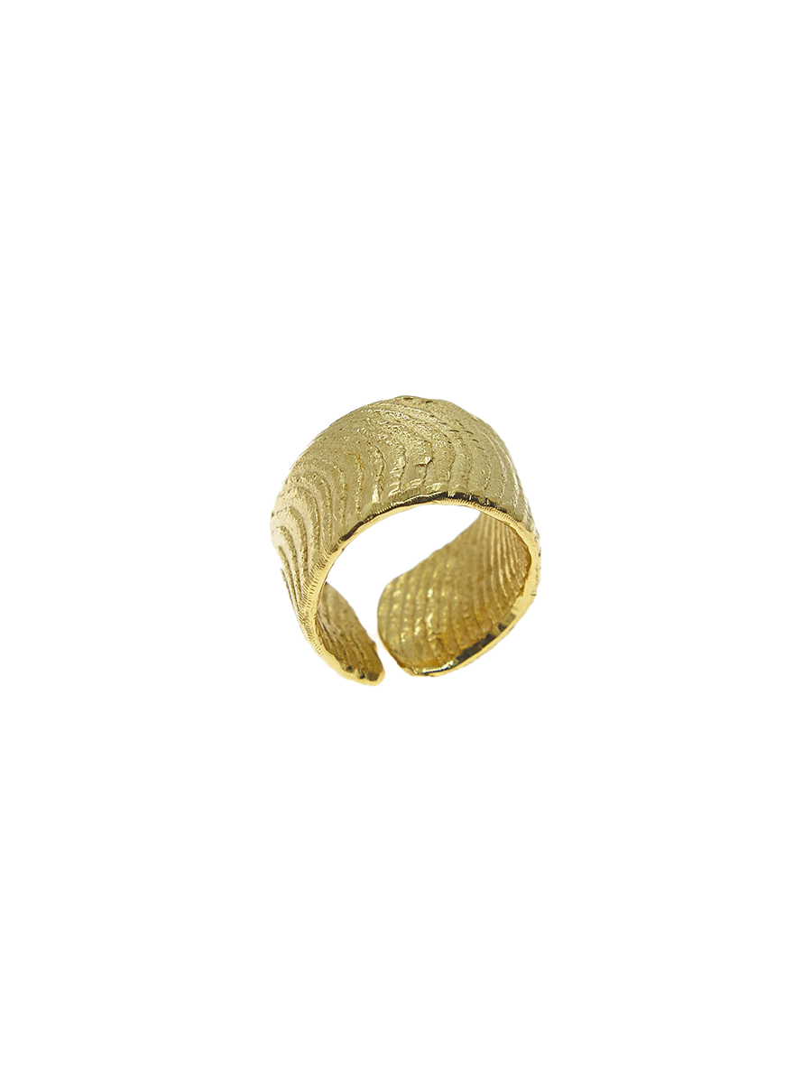 cj wrap ring gold plated