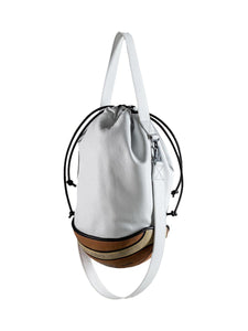 B-three bucket bag