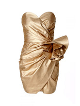 Alessandra Vegas Gold Dress