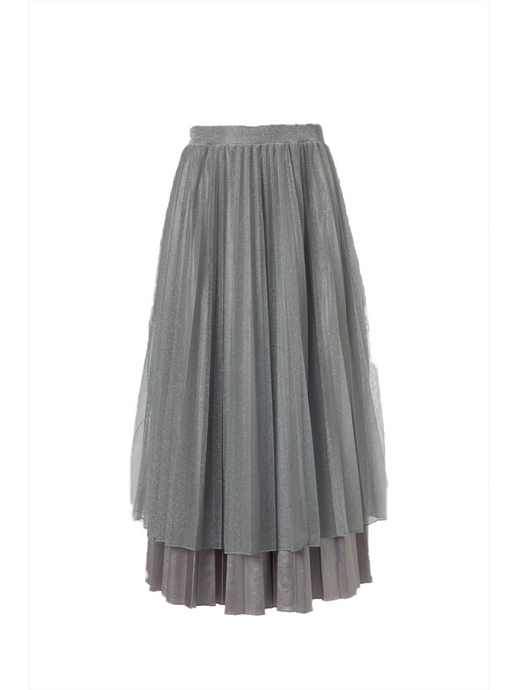 Mercury Silver Skirt