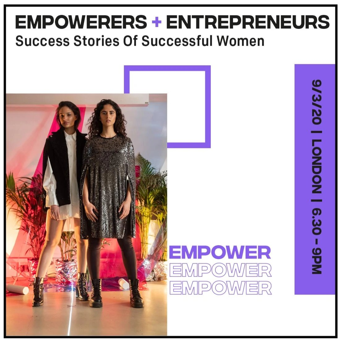 LONDON - LDC's #EachforEqual Empowerers + Entrepreneurs Networking Evening, 09/03 @ 6.30pm