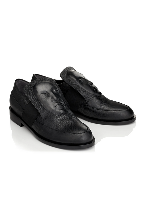 Ganor Art Loafers Phoebe Black leather shoes