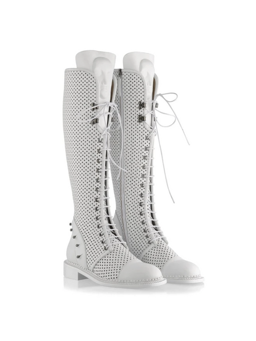 Ganor Art Boots Enyo White (Perforated) - LDC