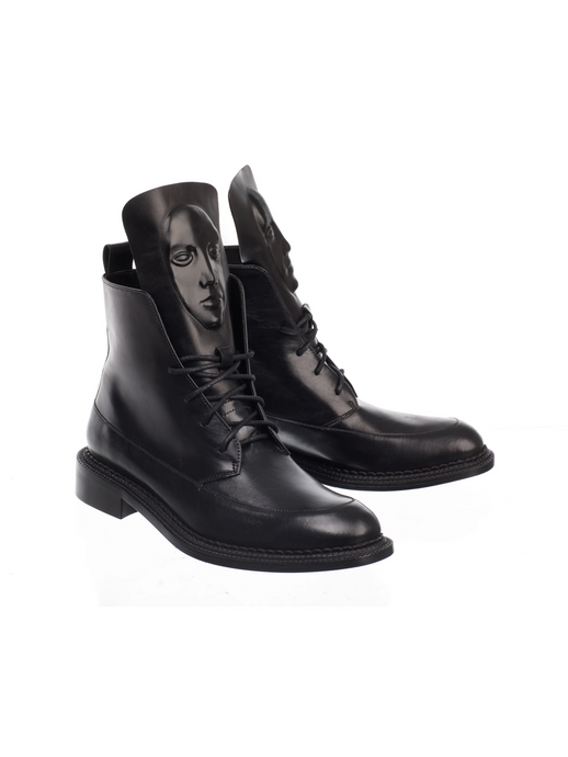 Ganor Zelos Black boots