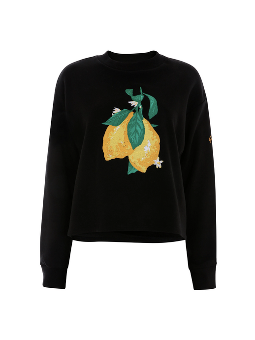 Wonky Lemon Sweatshirt