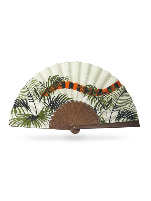 Indian Tiger Hand-Fan