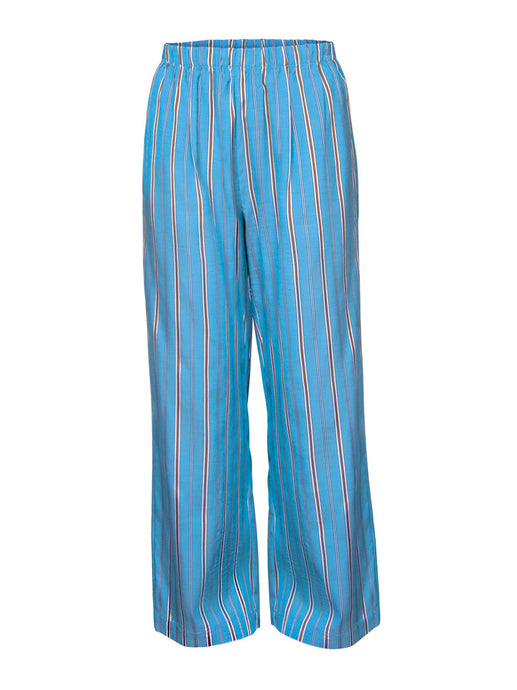 Striped Pyjama Trousers in Turquoise