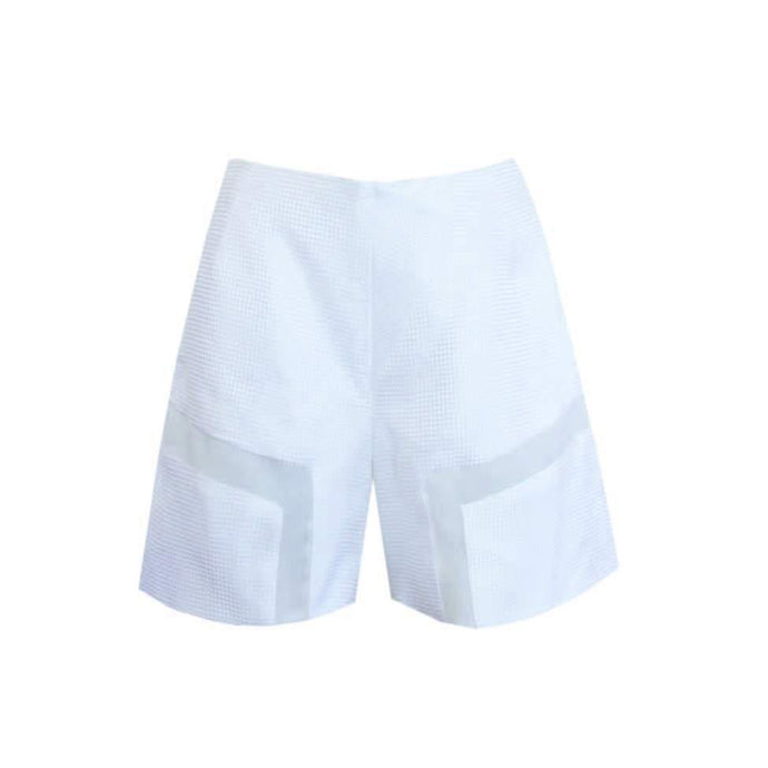 SILK JACQUARD SHORTS
