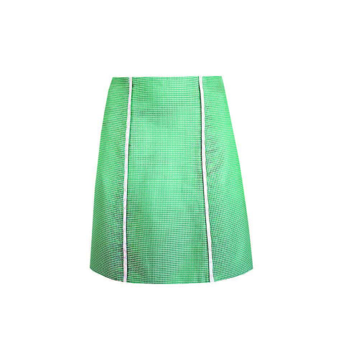 SILK JACQUARD SKIRT