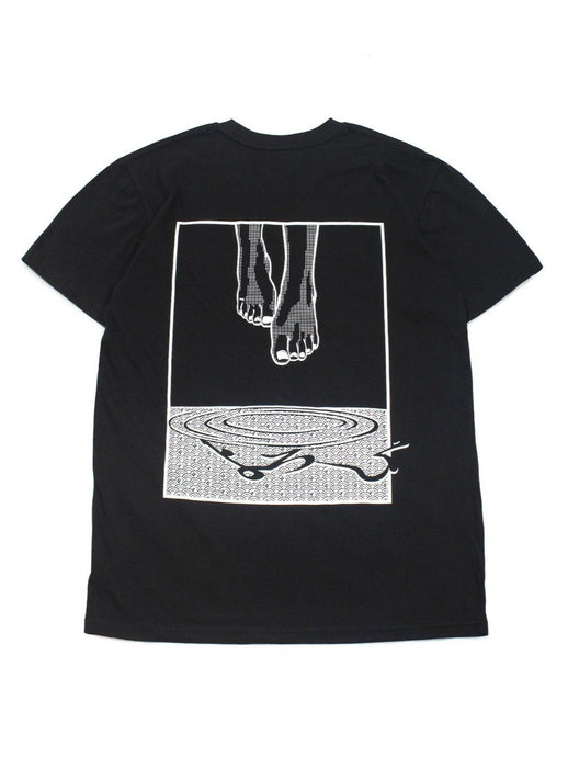 Classic Manga Cotton Tee - Levitate in Black