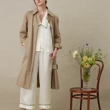 Not Just Pajama | French Style Long Pajama 2-Piece Suit