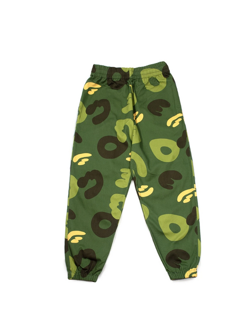 Cotton Drill Sweatpants Joggers - Original Camo