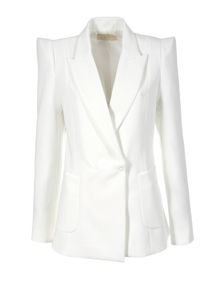 Samantha Cloud Dancer Blazer