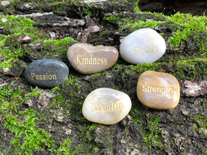 Engraved Inspirational Stones