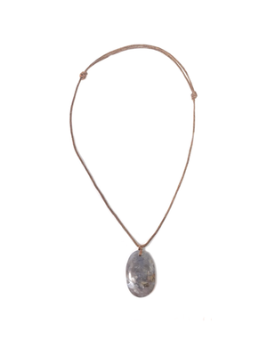 Blue Chalcedony Calming Necklace