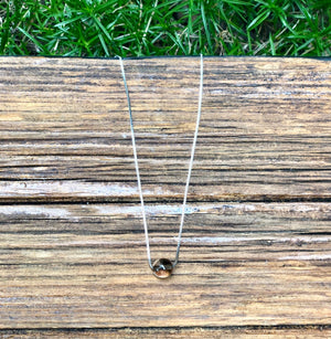 Crystal Bead Minimalist Healing Necklace