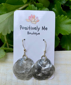 Shell Earrings - Silver Color