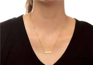 Balance Necklace Gold or Silver