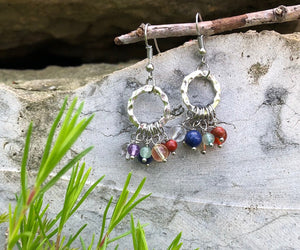 Seven Chakras Earrings