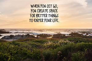 Let Go Inspirational Art