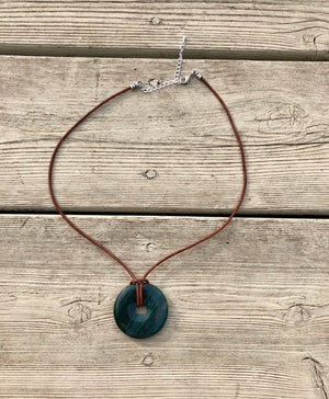 Circle of Life Gemstone Necklace