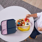b.box Kid's Lunchbox - Indigo Rose