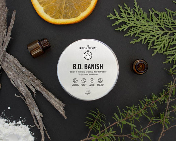 The Nude Alchemist - B.O. Banish deodorant