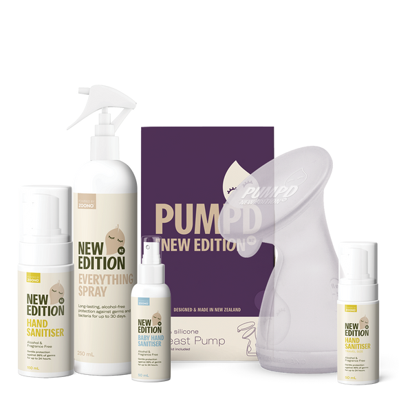 Pump and Full Range Sanitiser Bundle