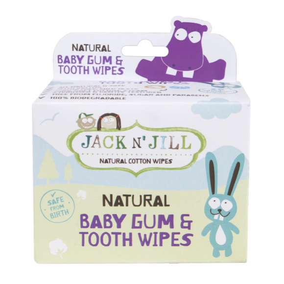 Jack N' Jill Gum & Tooth Wipes 25pk