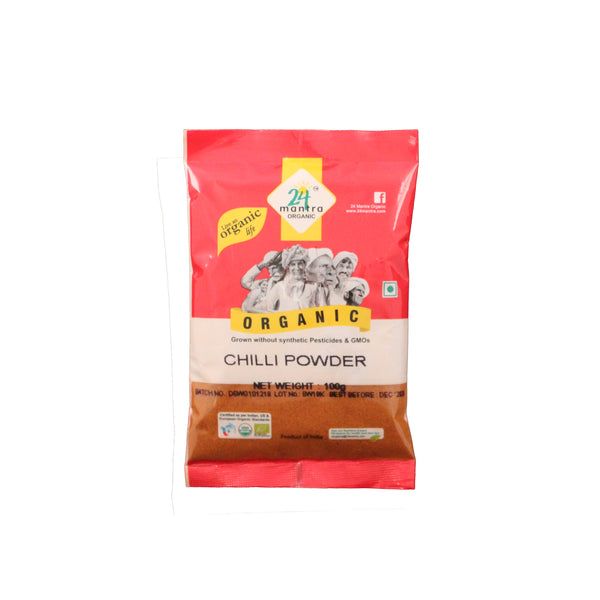 24 Mantra Chilli Powder - 100g