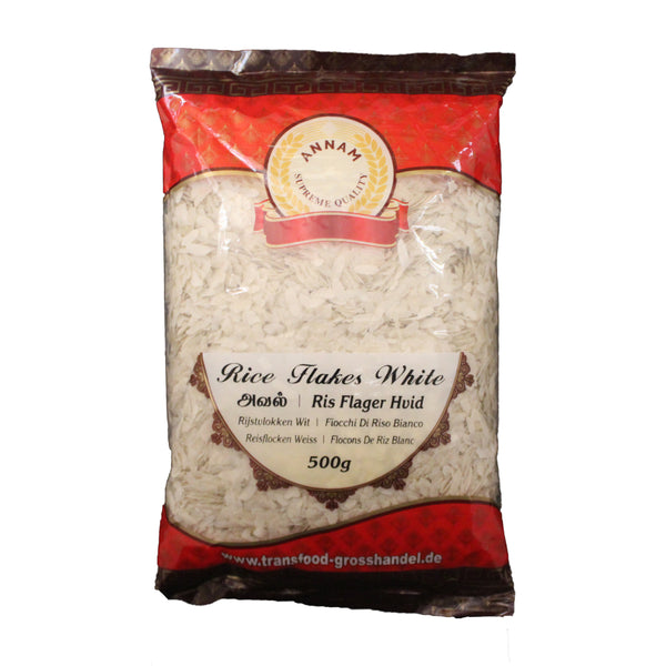 Annam Rice Flakes White /Ris flager  - 500g