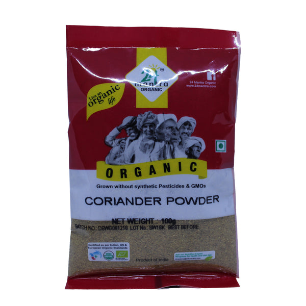 24 Mantra Coriander Powder - 100g