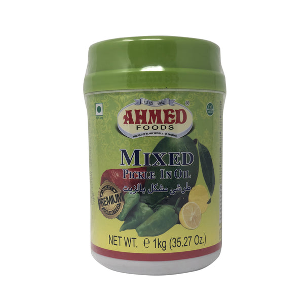 Ahmed Foods Mixed Pickle In Oil - 1 kg