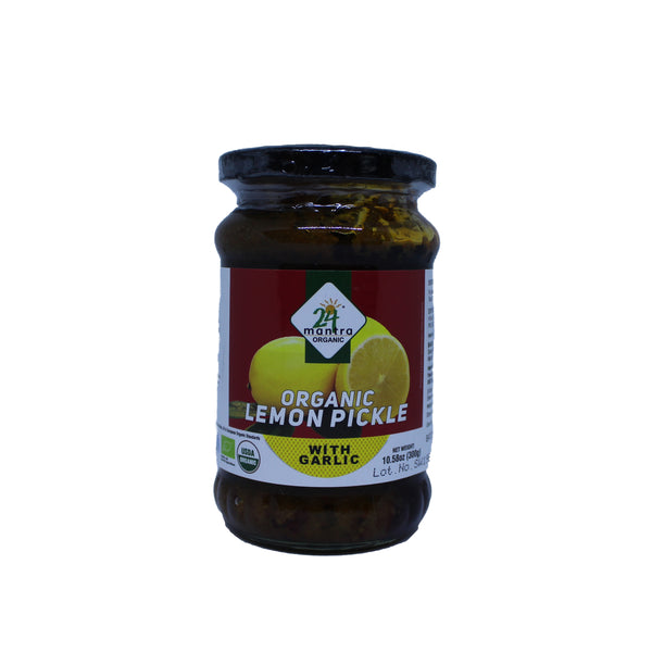 24 Mantra Organic Lemon Pickle - 300g