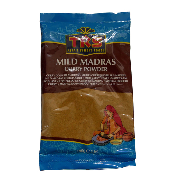 TRS Mild Madras Curry Powder - 100g