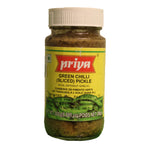 Priya Green Chili Pickle - 300g